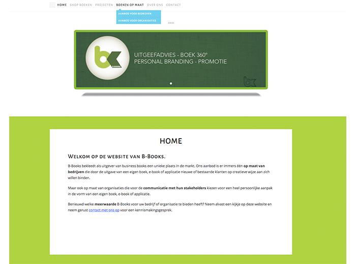 WordPress website voor uitgeverij