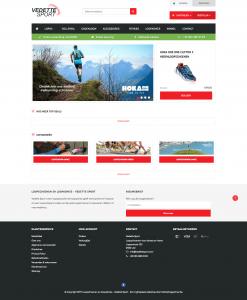 Lighspeed e-commerce voor sportwinkel Vedette Sport