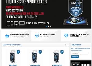 Lightspeed e-commerce voor smartphone accessoires