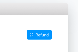 refund button Mollie.com/dashboard terugbetalingen Mollie