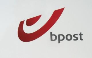 Bpost logo verzenden leveren pakket
