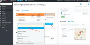 afhalen in de winkel PrestaShop webshop optimalisatie