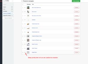 producten op je homepage toeveoegen weergeven Lightspeed webshop optimalisatie