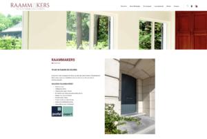 WordPress Woocommerce voor ramenbedrijf