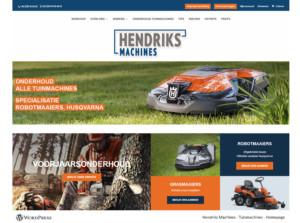 Hendriksmachines homepage closer PORTFOLIO