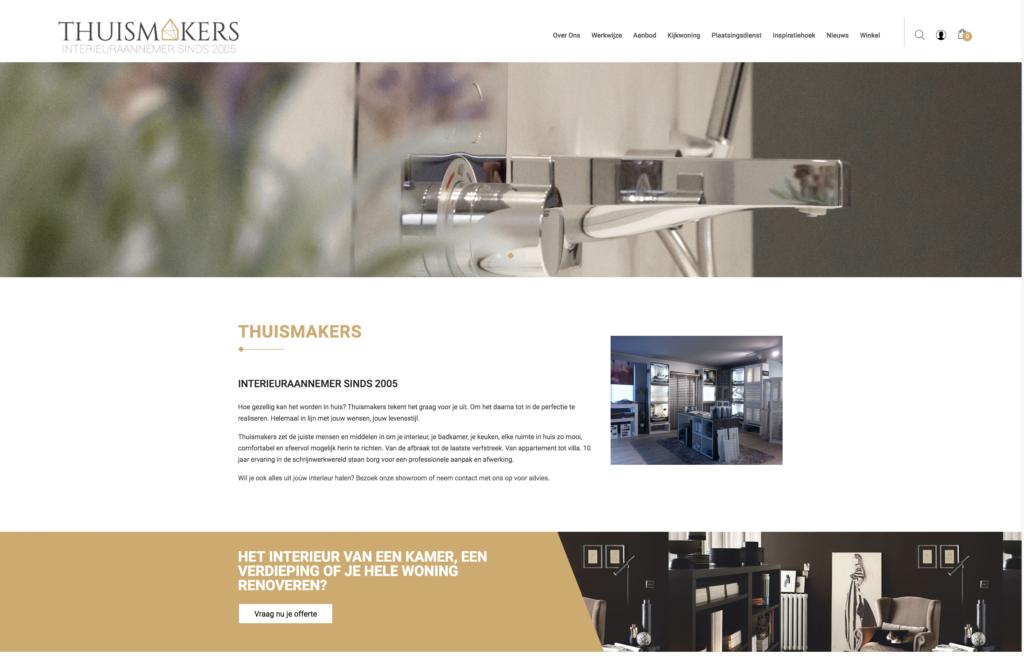 WordPress Woocommerce voor renovatiebedrijf