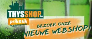 PrestaShop webshop Thysshop prik & tik Duffel