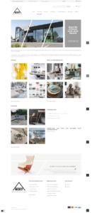 Prestashop webshop designmeubelen showroom template