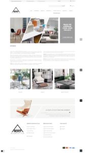 PrestaShop webshop designmeubelen Gent