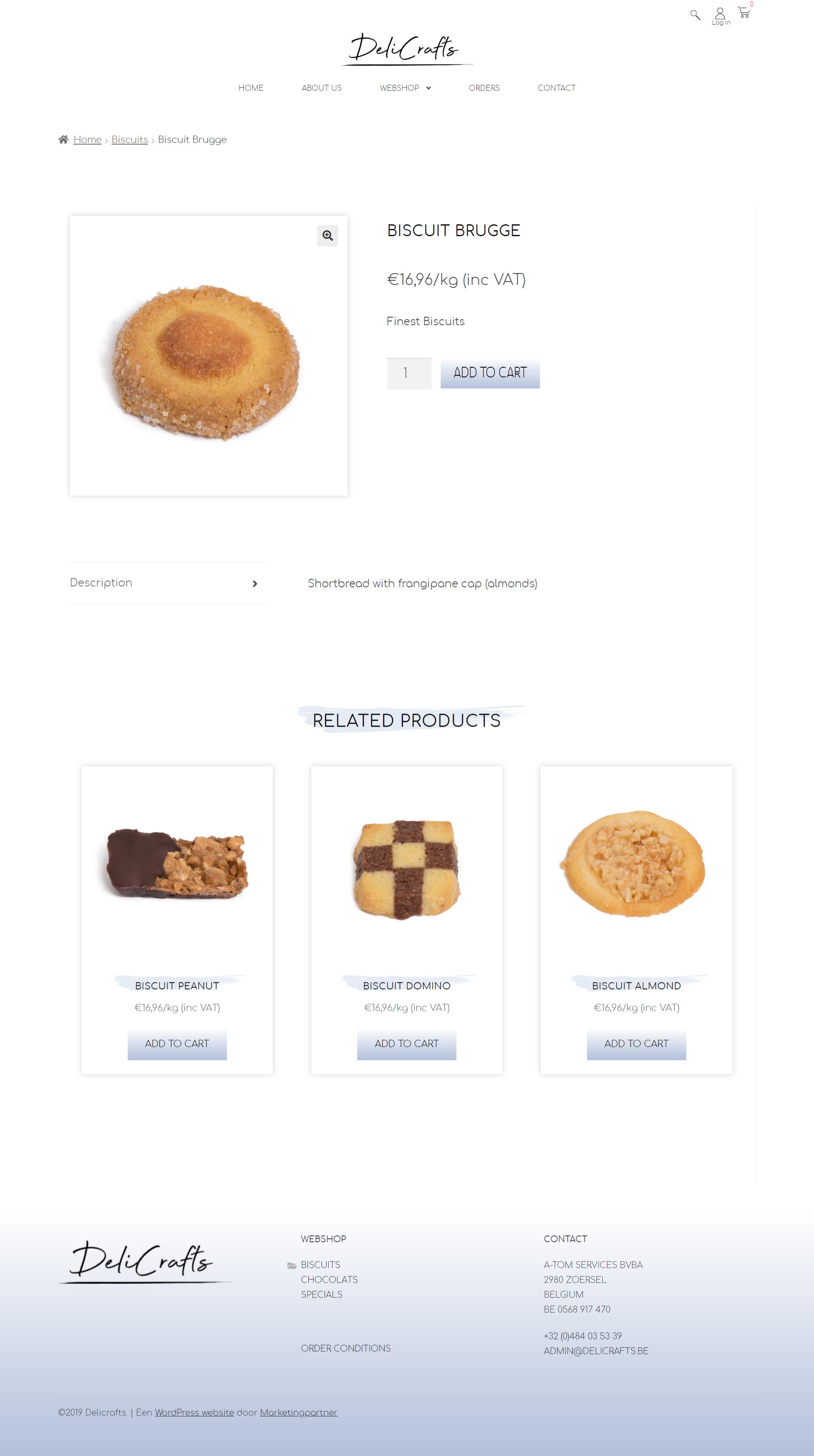 B2B webshop Woocommerce groothandel categoriepagina
