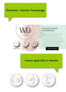 Ontwerp banners website