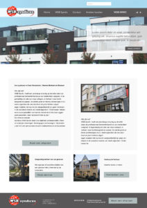 Ontwerp homepage WSB