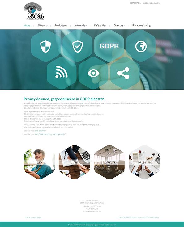 Custom WordPress website