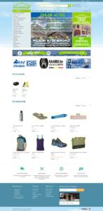 Prestashop webshop alpinisme