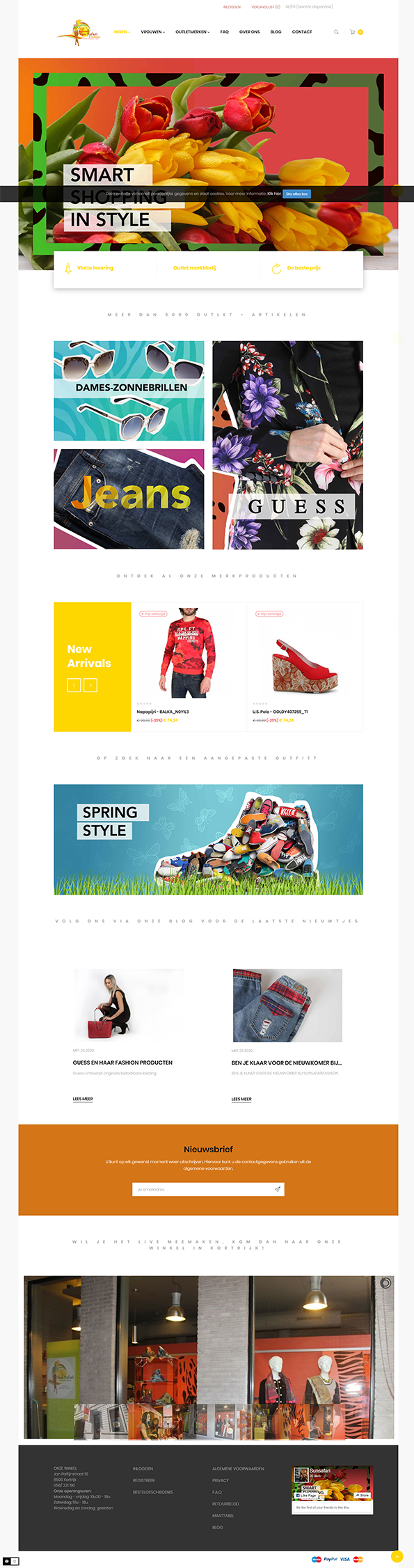 Prestashop online outlet