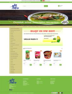 B2B lightspeed webshop