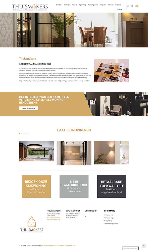 B2C webshop WordPress Woocommerce