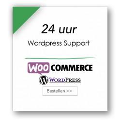 24 uur technische support WordPress