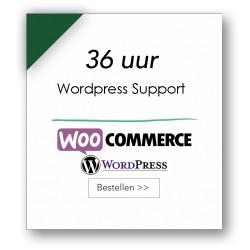 36 uur technische support WordPress