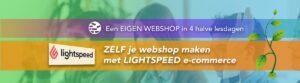 Banner eigen webshop