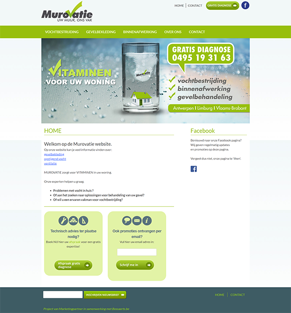 Murovatie Renovatie homepage