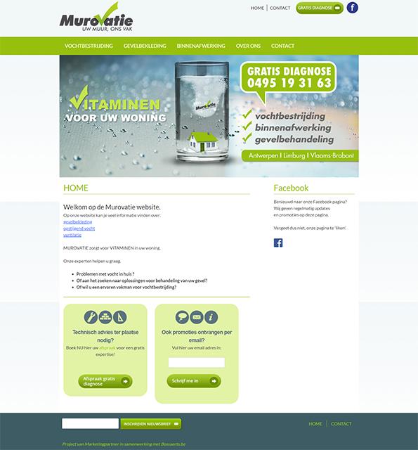 Murovatie Renovatie homepage