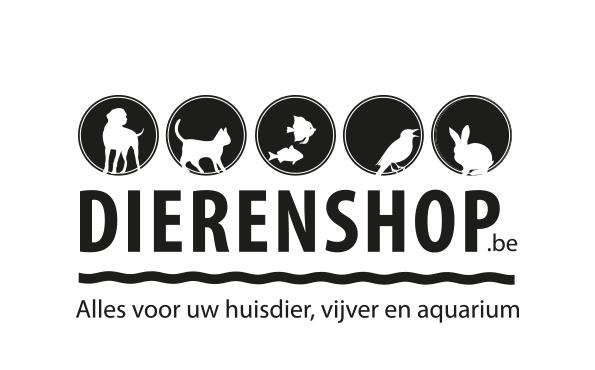 Logo dierenshop zwart