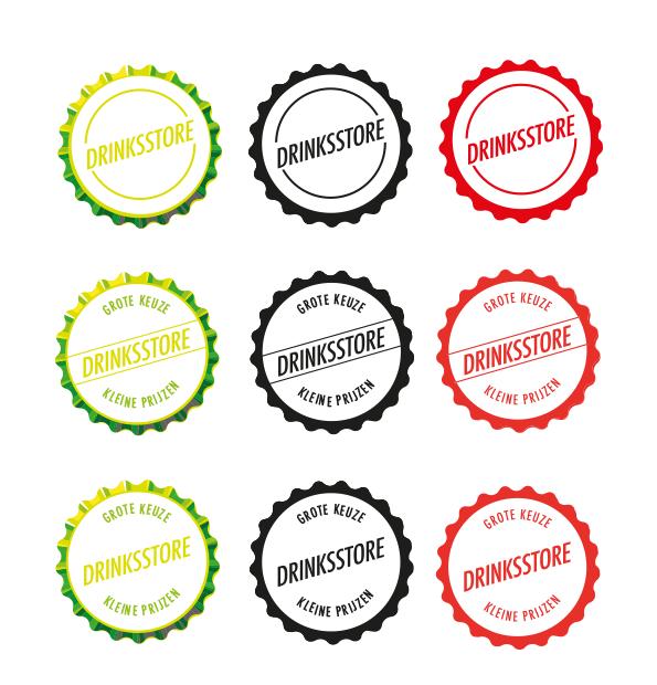 Drinksstore logo stijl 2