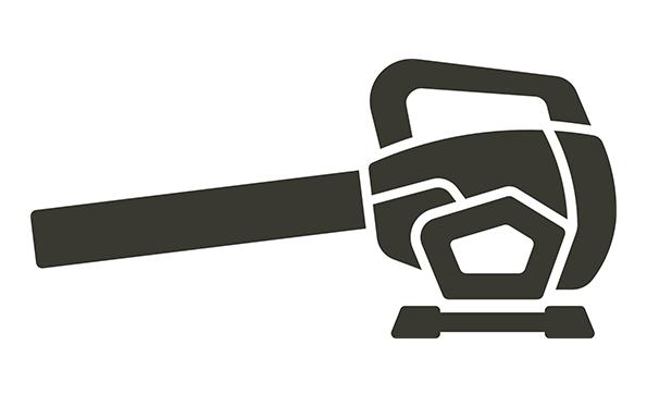 Hendriks machines bladblazer icoon