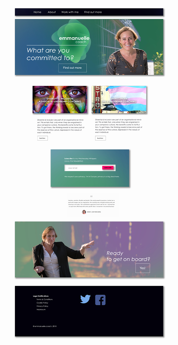 Homepage Emanuelle Verhaegen