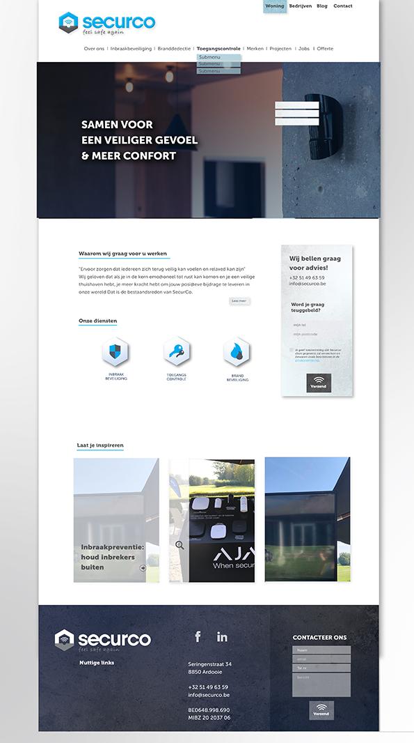Homepage Securco