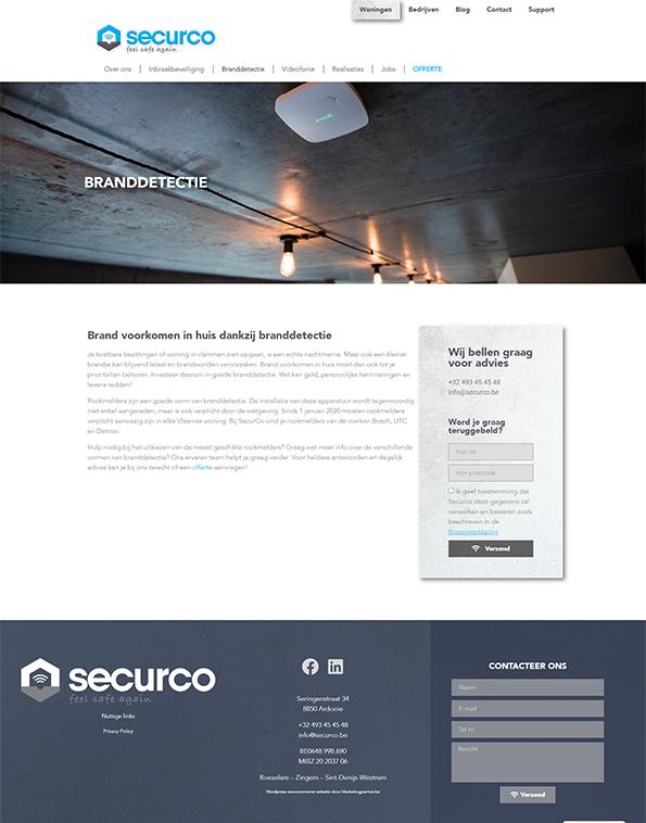 Securco brandveiligheid