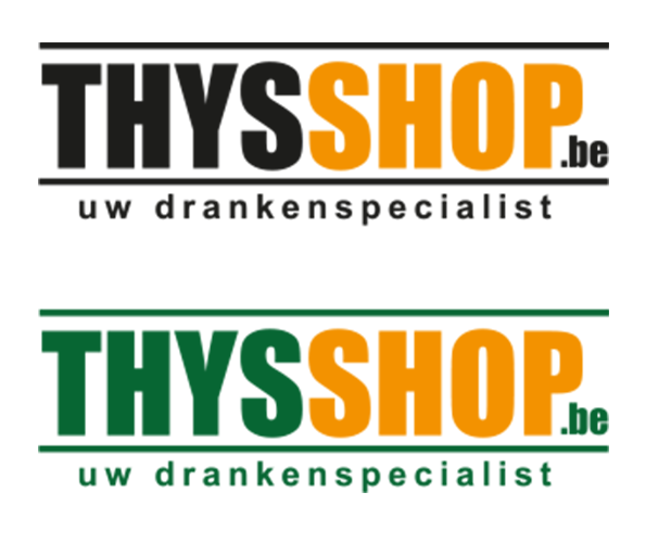Voorstel 1 Thysshop logo