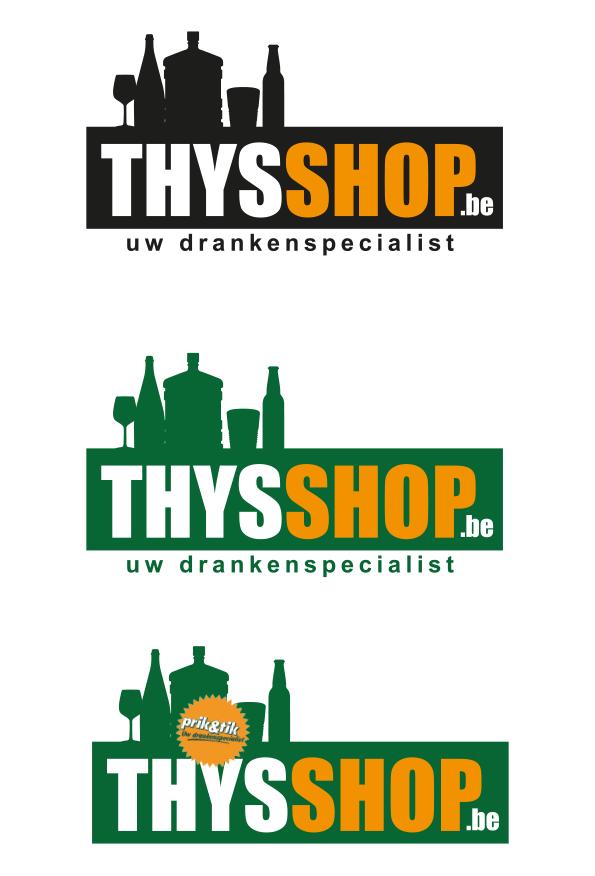 Voorstel 2 Thysshop logo