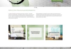 WordPress website gezondheidscoach